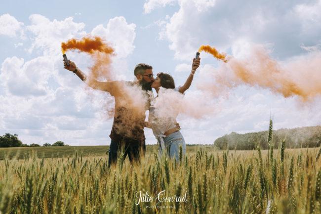 Shooting photo amoureux